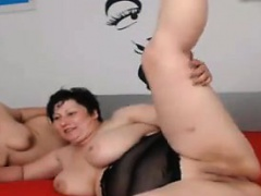 Two Mature Whores Teasing