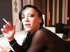 Long Nails Smoking Bitch