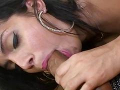 Anal fuck is organized by guy for a ladyboy