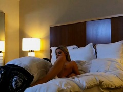 Hottie can fuck any guy she wants, at any time of the day