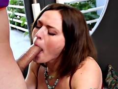 Pornstar krissy lynn cocksucking young dude