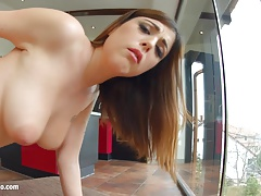 Anal hardcore sex with Amelia Lyn from Ass Traffic