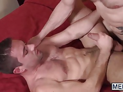 Hot Dylan Knight offers up his sweet ass for Dennis big cock