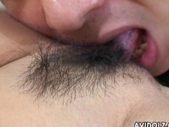 Tantalizing Japanese cutie loves sucking a hard wang