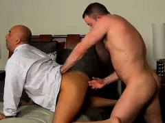 Amazing gay scene After a day at the office, Brian is need o