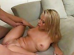 Slutty hot Ashlynn Brooke getting banged hard on her slippery wet snatch