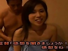 Pretty asian fucked in public sauna