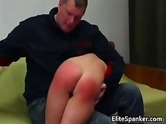 Kinky dude spanks ass of naughty babe  part4