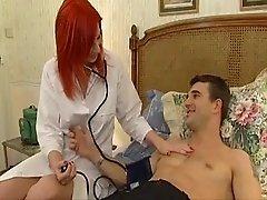 Redhead Nurse Anal