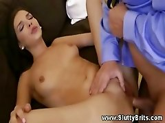 Her pussy is now ready for his hard dick to be fucked