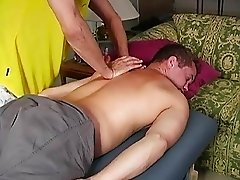 The best massage for the hottest stud