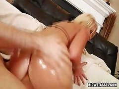 Sasha strips and waits for cock